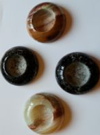 Small Onyx Tea Light Holders